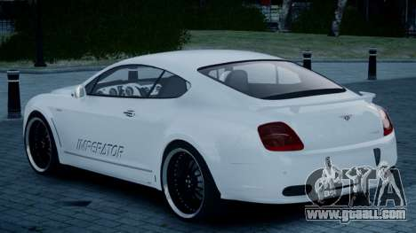 Bentley Continental GT Hamann Imperator for GTA 4 left view
