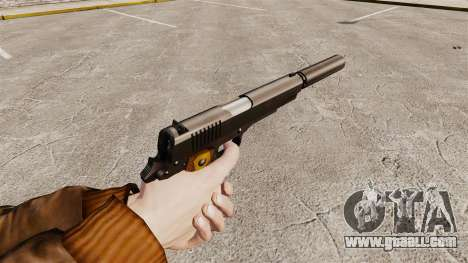 Colt 1911 pistol v1 for GTA 4 second screenshot