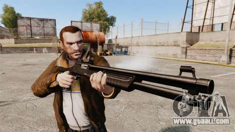 Tactical shotgun Fabarm SDASS Pro Forces v4 for GTA 4 third screenshot