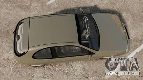 Daewoo Lanos FL 2001 for GTA 4 right view