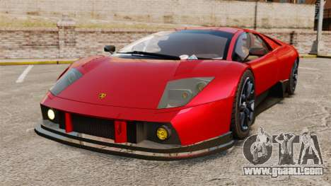 Lamborghini Murcielago RGT for GTA 4