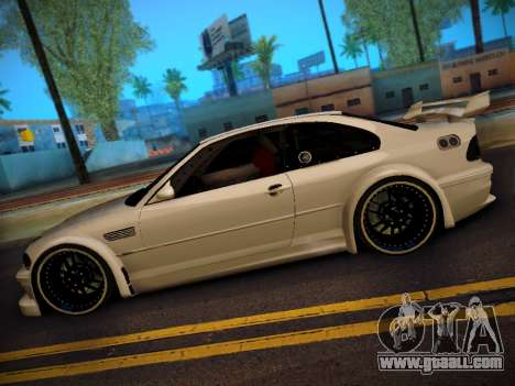 BMW M3 E46 Tuning for GTA San Andreas back left view