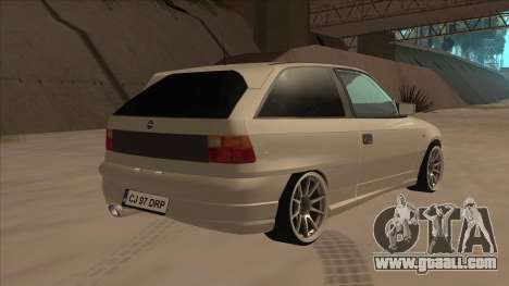 Opel Astra F DRP for GTA San Andreas right view