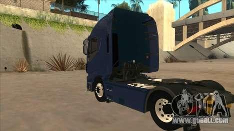 Iveco Stralis HI-WAY for GTA San Andreas right view