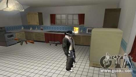 Full Weapon Pack for GTA San Andreas second screenshot