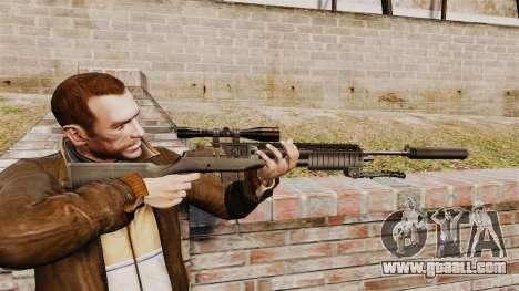 M21 sniper rifle v1 for GTA 4