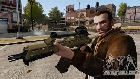 HK G36c for GTA 4 forth screenshot