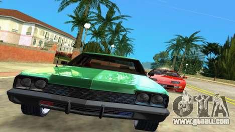 Dodge Monaco Police for GTA Vice City back left view