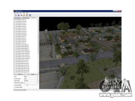 Map Editor 0.21b for GTA San Andreas