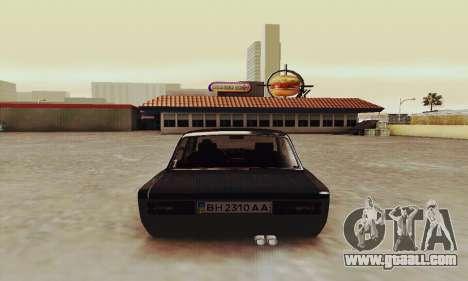 VAZ 2106 Zielonka for GTA San Andreas right view