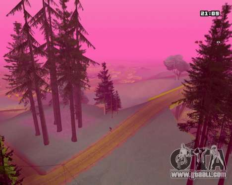 Pink NarcomaniX Colormode for GTA San Andreas