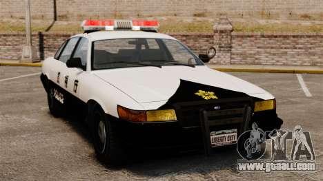 Japanese Police for GTA 4