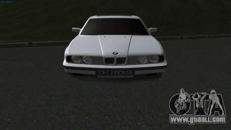 BMW 535i for GTA San Andreas back left view