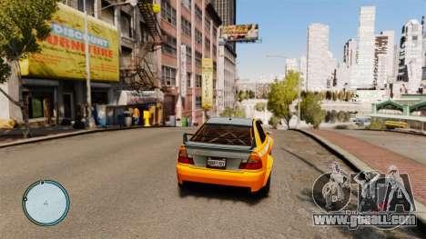 Speedometer AdamiX v5 for GTA 4 second screenshot
