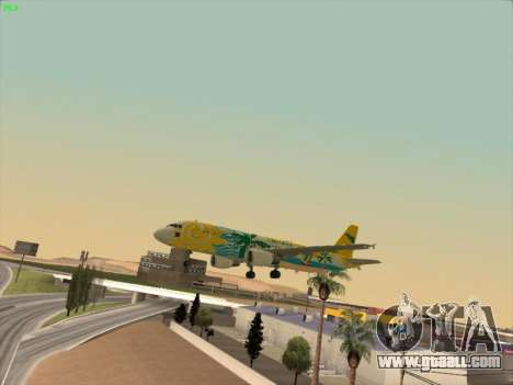 Airbus A320-211 Cebu Pacific Airlines for GTA San Andreas engine