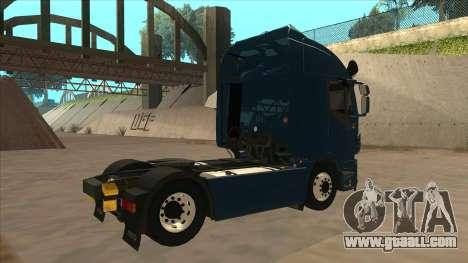 Iveco Stralis HI-WAY for GTA San Andreas back view