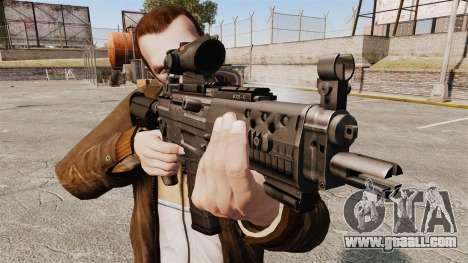 The SIG 552 assault rifle for GTA 4 third screenshot