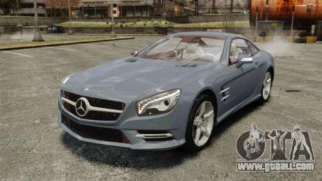Mercedes-Benz SL500 2013 for GTA 4
