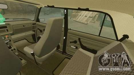 Vaz-2107 for GTA 4 interior