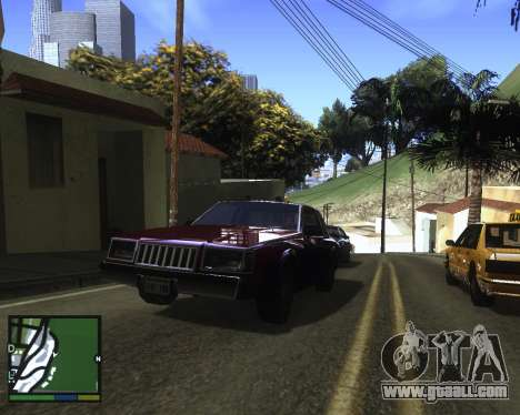 ENB for low PC for GTA San Andreas fifth screenshot