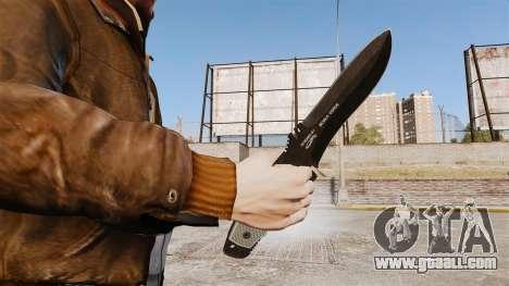 Tactical knife v5 for GTA 4