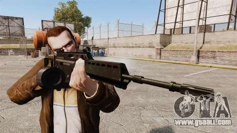 MG36 H&K v2 assault rifle for GTA 4 third screenshot
