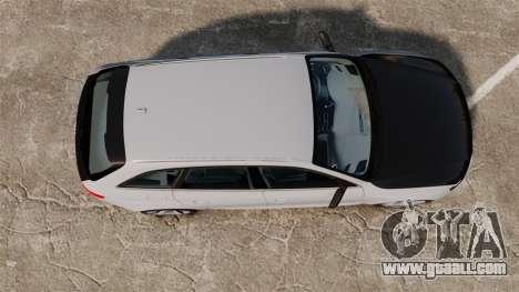 Audi RS4 Avant 2013 Sport v2.0 for GTA 4 right view