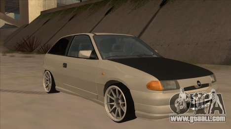 Opel Astra F DRP for GTA San Andreas left view