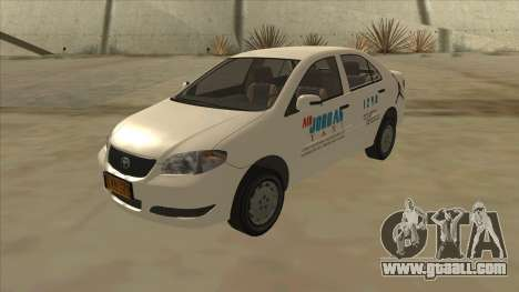 Toyota Vios AIR JORDAN TAXI of Cagayan De Oro for GTA San Andreas