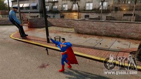 Script For Superman for GTA 4 fifth screenshot