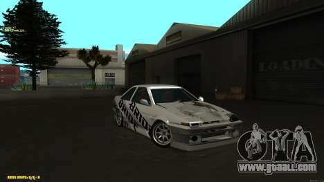 Toyota AE86 for GTA San Andreas