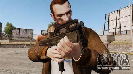 Magpul FMG submachine gun-9 for GTA 4 third screenshot