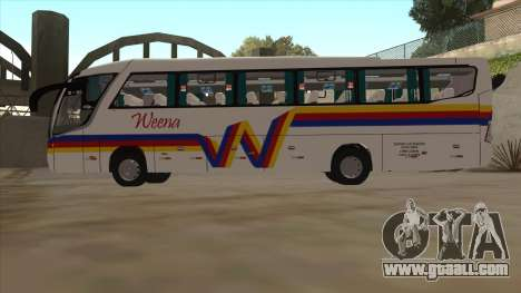 WEENA B90 for GTA San Andreas back left view