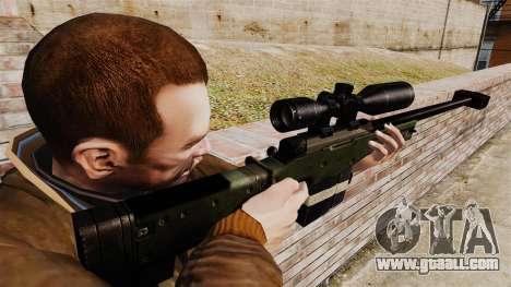 Accuracy International AW50F for GTA 4 second screenshot