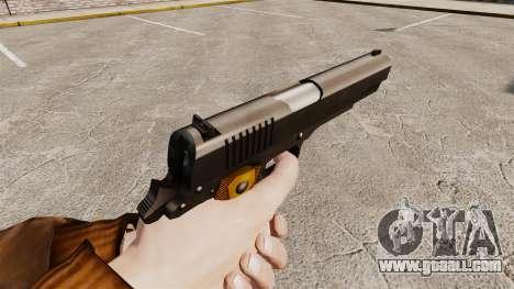 Colt 1911 pistol v2 for GTA 4 second screenshot