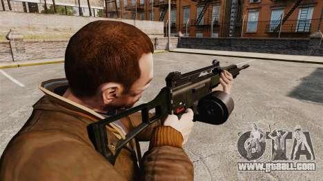 MG36 H&K v2 assault rifle for GTA 4 second screenshot