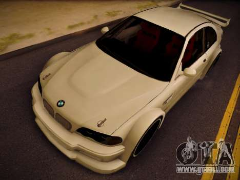 BMW M3 E46 Tuning for GTA San Andreas right view