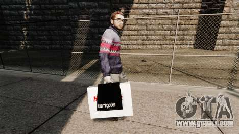 Bags Bloomingdales and the Hard Rock Cafe for GTA 4