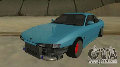 Nissan Silvia s14 Kouki Hellaflush for GTA San Andreas