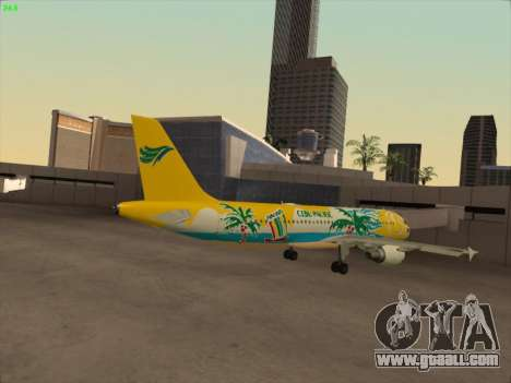 Airbus A320-211 Cebu Pacific Airlines for GTA San Andreas right view