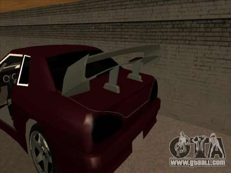 Elegy by PiT_buLL for GTA San Andreas back view