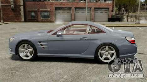 Mercedes-Benz SL500 2013 for GTA 4 left view