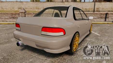Subaru Impreza WRX STI 1999 [Final] for GTA 4