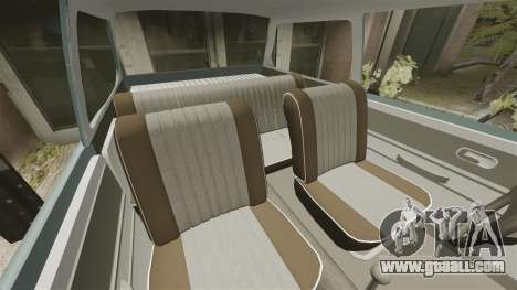 Volkswagen Brasilia for GTA 4 side view