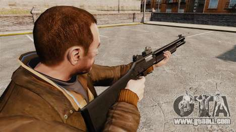 Tactical shotgun Fabarm SDASS Pro Forces v4 for GTA 4 second screenshot