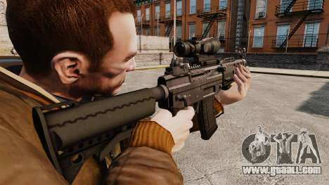 The SIG 552 assault rifle for GTA 4 second screenshot