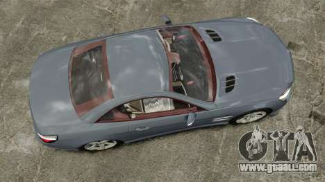 Mercedes-Benz SL500 2013 for GTA 4 right view