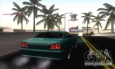 Elegy Edit for GTA San Andreas back left view