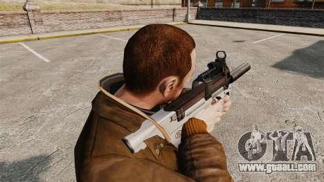 Belgian FN P90 submachine gun v3 for GTA 4 second screenshot