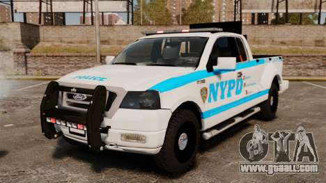 Ford F-150 v3.3 NYPD [ELS & EPM] v1 for GTA 4